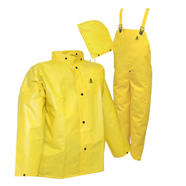 River City Rainwear 3X Yellow Wizard .28 mm PVC And Nylon Rain Suit